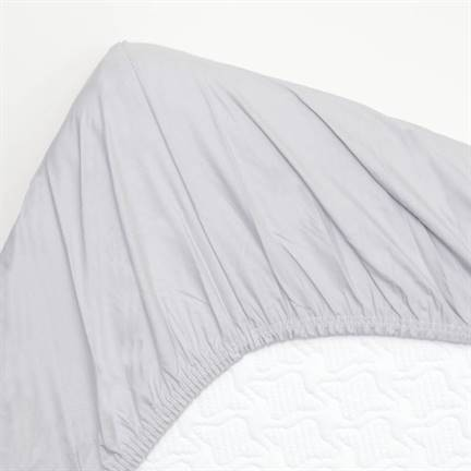 snoozing drap housse en percale de coton. Black Bedroom Furniture Sets. Home Design Ideas